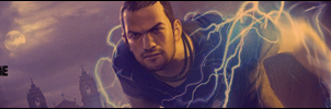 Infamous 2 signature by WahaAdnan
