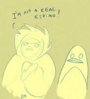 I'm Not a real eskimo by Yetska