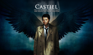 Castiel - Angel of the Lord by Nyah86