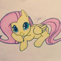 Fluttershy by Whiskers-the-Cat
