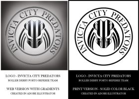 Invicta City Predators - Logo by LuneBleu