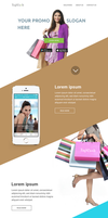 Promo landing page by Zoltons