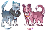 Salty Pups [OPEN/REDUCED] by Chocodopts