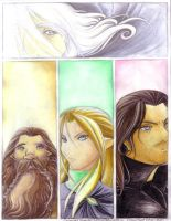 Lotr:Trustworthy friends by Kriska
