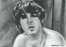 Paul McCartney without a shirt on... by Tokiiolicious