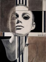 Abstraction of Keira Knightley by mischi92