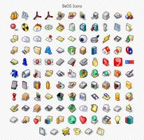 BeOS Icons by javierocasio