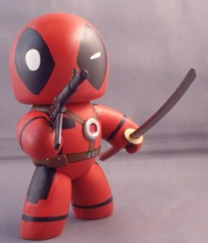 Mini Mugz Deadpool by Shinobitron