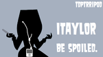 Total Drama The Ridonculous Race Taylor Ipod by TheDipDap1234