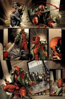 Deadpool 6 - 16 by RexLokus