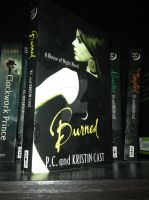 House of Night Series: Burned - Book by Horsey-Luver450