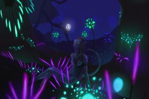 night time by cypherbane