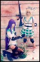 Saeko and Rei by Beibei-J
