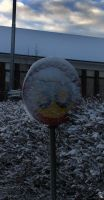 Snow sign by wellgraphic
