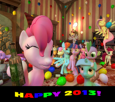 Happy 2013! by Pika-Robo