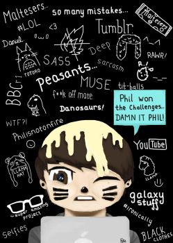 Danisnotonfire Wallpaper by TheForgottenWeasley
