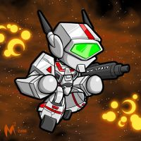 Commission - Robotech by MattMoylan