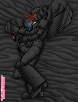 TF: Skywarp x Prowl by Masqueadrift