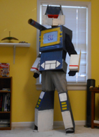 Soundwave superior, Halloween also superior by IrrationallyRational