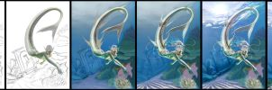 Queen Siren - WIPs by Varges