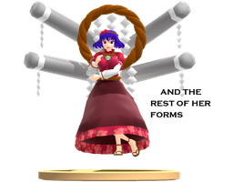 MMD Trophy: Smith.l Kanako by Rea-Usax