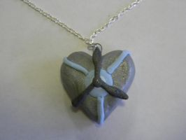 Lily Airheart Pendent by TheIrishAngel