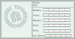 DABR Stat Card by Aikin