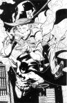the mad hatter and batman by BrentMcKee