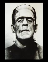 FRANKENSTEIN'S MONSTER by ryanmcgrathdesign