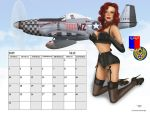 Calendar Girl May 15 by donnaDomenitzo