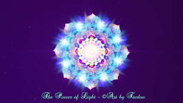 The Power of Light - Mandala by Faedou
