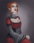 Commission - Eleanor. by riikozor