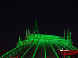 Ghost Galaxy Space Mountain by decemberdreams