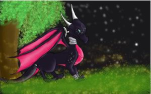 Cynder xDD by Lilac-The-Gerbil