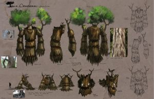 Tree Creature: Omuni Online by Baranha