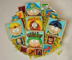 South Park: The Stick Of Truth Sugar Cookies by annimemanga