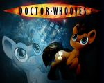 Doctor Whooves Wallpaper by Fire-Topaz