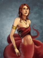 Red Serpent by anqila