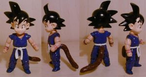 DragonBall Goku Kid custom by pgv