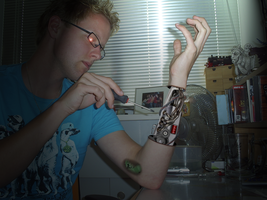 Robotarm Without Circuitboard by perbrethil