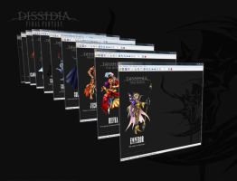 Dissidia Chaos Wallpapers by MaskedJudas