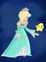Watcher of the Cosmos, Rosalina by princesseclairtippi