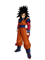 Goku SSJ4 by DBZArtist94