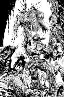 Gears of War issue 6 Barrik by LiamSharp