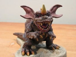 Kawaii Chibi Baragon! by Legrandzilla