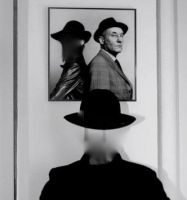 Self-Portrait With Burroughs by MrDorgon