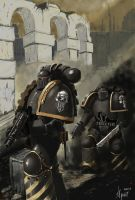 Iron Warriors by Ilqar