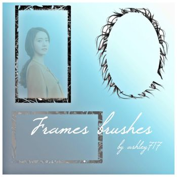 Frames brushes pack download by ashley717