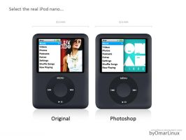 iPod nano 3rd Generation by omarlinux