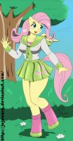 My Little Pony Fluttershy (a Color) by migueruchan